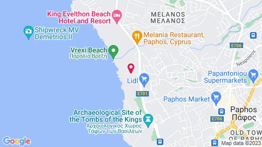 Blue Lagoon Kosher Hotel Map