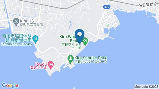 Kirakankou Hotel Map