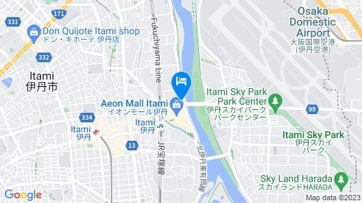 VIA PAR Hotel Itami Map