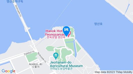 Hanok Hotel Youngsanjae Map