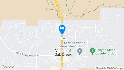 Bell Rock Inn by Diamond Resorts Map
