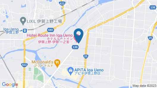 Hotel Route-Inn Igaueno-Iga Ichinomiya Inter- Map