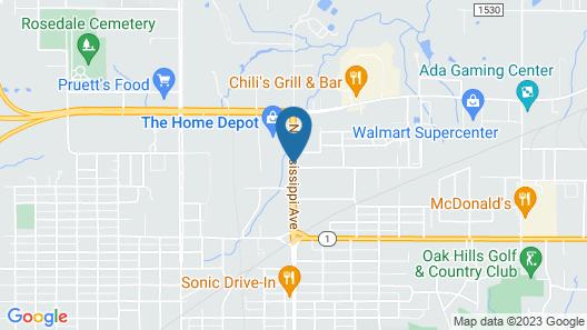 Raintree Inn Map