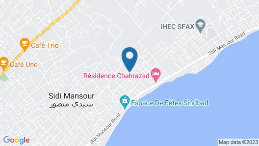 Gorgeous Villa Sfax Map