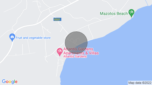 Villa With Private Pool By The Sea Map