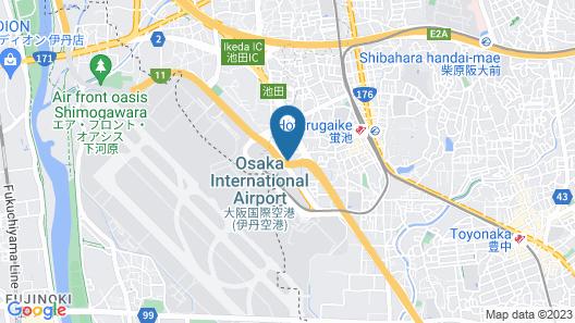 Hotel A.P Map
