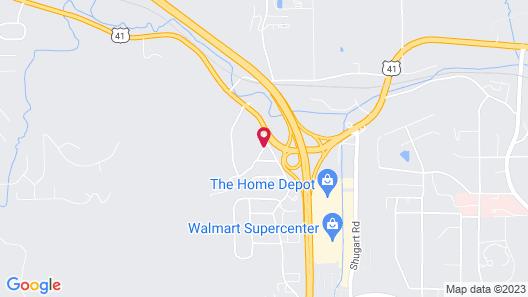 Super 8 by Wyndham Dalton/Convention Center Area Map