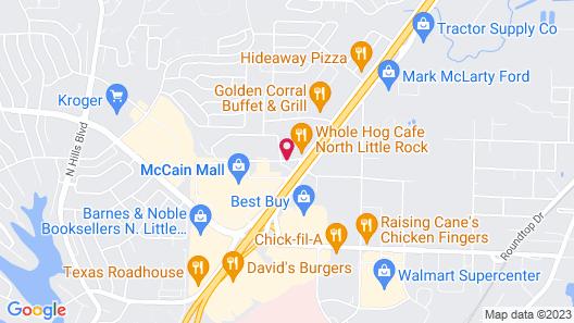 Super 8 by Wyndham North Little Rock/McCain Map