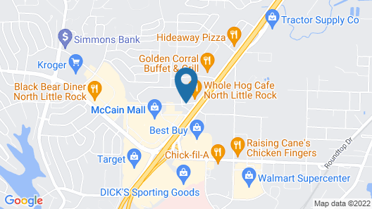 Super 8 by Wyndham North Little Rock/McCain Map