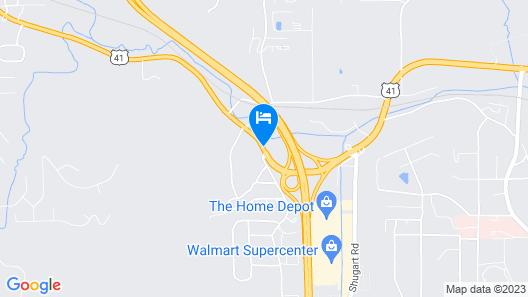 Motel 6 Dalton, GA Map
