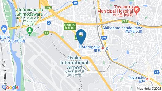 Reftel Osaka Airport Hotel Map
