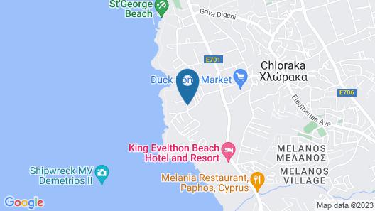 Louis Paphos Breeze Map