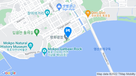 Shangria Beach Tourist Hotel Map