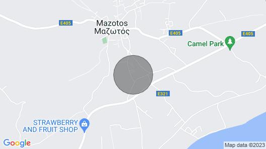 Dreamy 2 Bedroom Maisonette in Mazotos Map