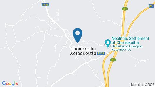 Porfyrios Country House Map