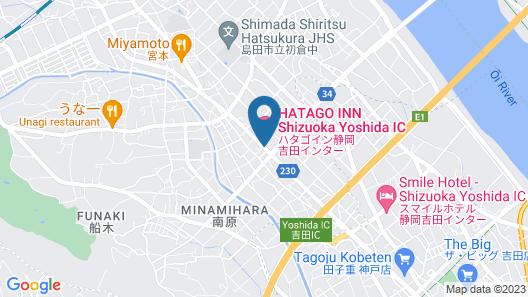 HATAGO INN Shizuoka Yoshida IC Map