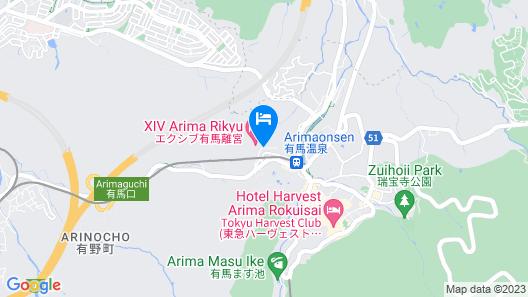 Arima Onsen Motoyu Ryuusenkaku Map