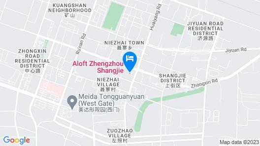 Aloft Zhengzhou Shangjie Map