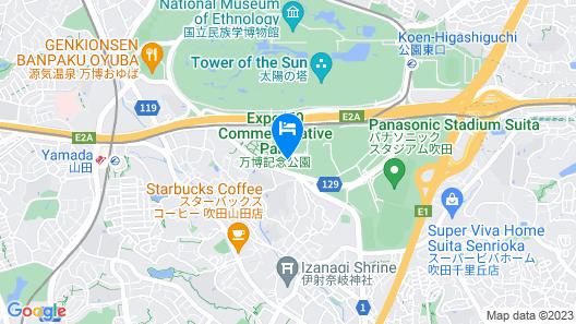 Hankyu Expo Park Map