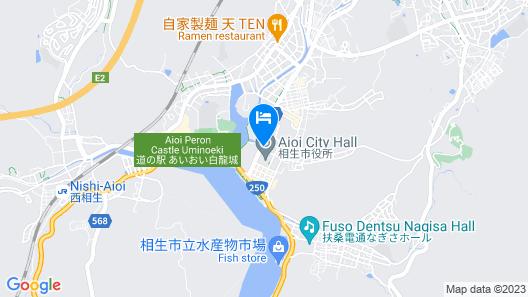 Kaiun Ryokan Map