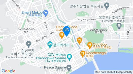 Ekonomy Hotel Mokpo Map