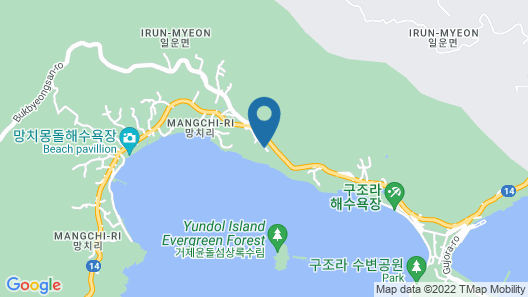 A day in Geoje Pension Map