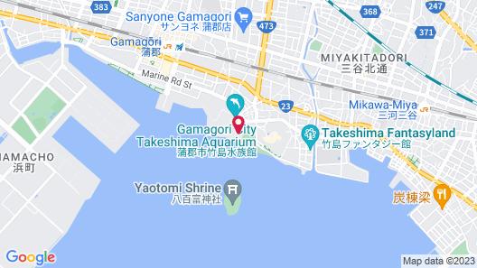Hotel Takeshima Map
