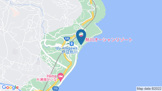Atagawa Seaside Hotel Map