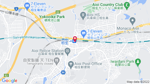 Aioi Station Hotel Map