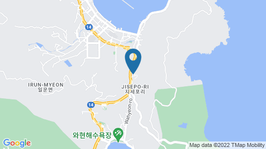 Dome Hotel Geoje Map