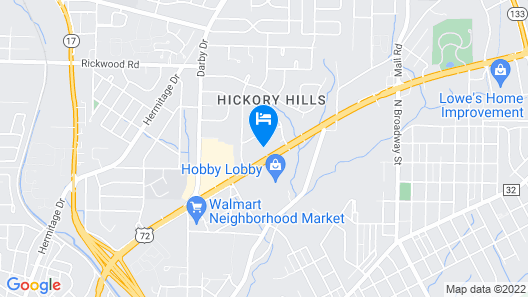 Florence Inn and Suites Map
