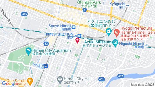 Dormy Inn Himeji Natural Hot Spring Map