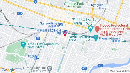 Hotel Nikko Himeji Map