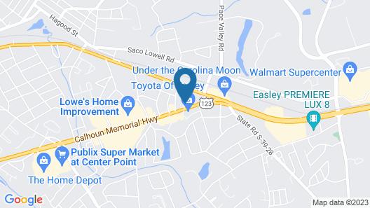 Days Inn by Wyndham Easley/Greenville/Clemson Area Map