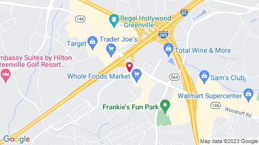 Drury Inn & Suites Greenville Map