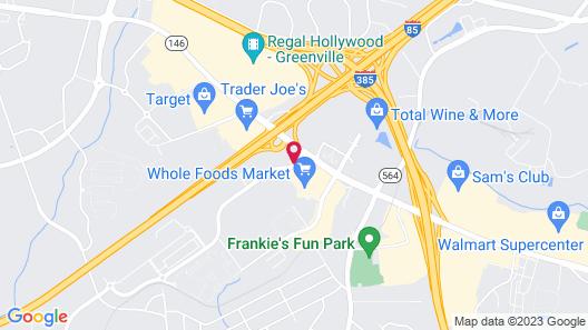 Hilton Garden Inn Greenville Map