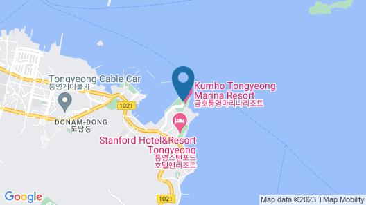 Kumho Tongyeong Marina Resort Map