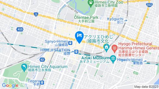 HOTEL MONTEREY HIMEJI Map