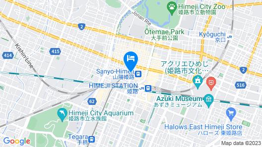 Toyoko Inn Himeji-eki Shinkansen Kita-guchi Map