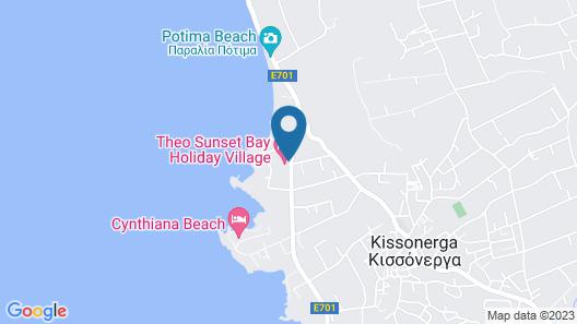 Theo Sunset Bay Hotel Map