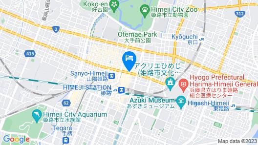 Daiwa Roynet Hotel Himeji Map