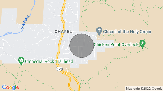Perfect Sedona retreat w/ firepit, Ping-Pong, & gas grill - dogs welcome! Map