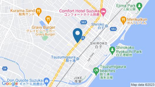 OCEAN TERRACE Hotel & Wedding Map