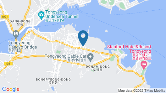 Tongyeong The Story Guesthouse Map