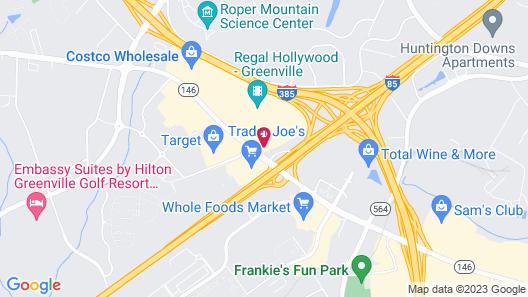 Baymont by Wyndham Greenville Woodruff Rd Map