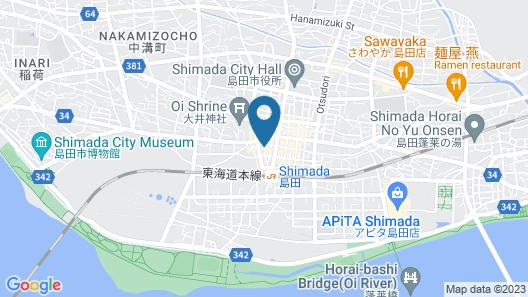Hotel Select Inn Shimada Ekimae Map