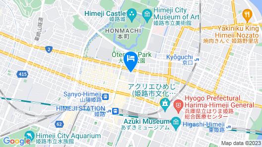 Hotel Wing International Himeji Map