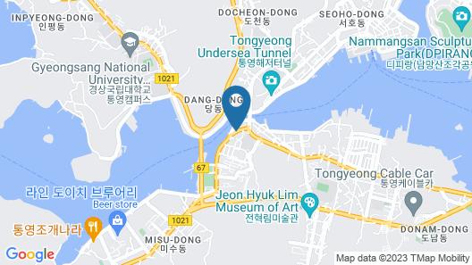 Tongyeongdaegyo Guesthouse - Hostel Map