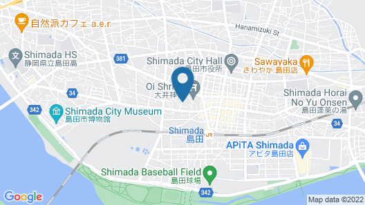 Ooi no Watashi - Hostel Map