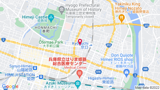 Shironoshita Guesthouse - Hostel Map